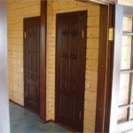 как выбрать межкомнатные двери для дачного дома