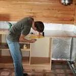 сборка кухни на даче