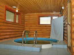баня с бассейном фото
