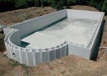 сборный бетонный бассейн фото