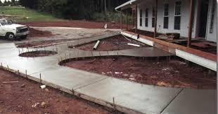 бетонная дорожка фото