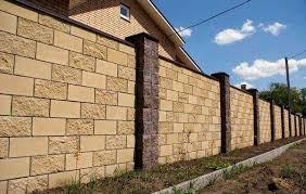 забор из блоков