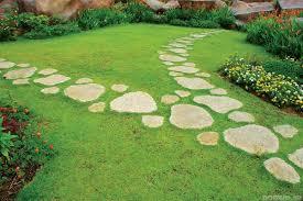 дорожки из природного камня фото