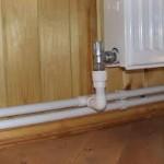горизонтальная прокладка труб в доме
