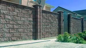 забор из блоков под камень