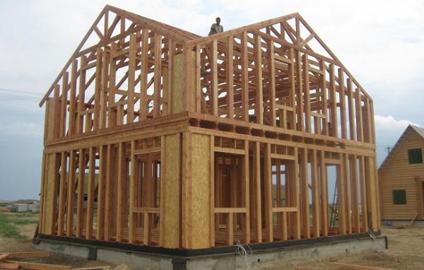 Плюсы и минусы строительства каркасных домов