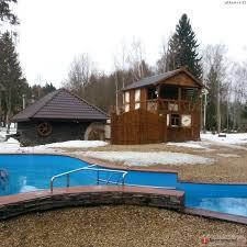 обогреваемый бассейн на даче