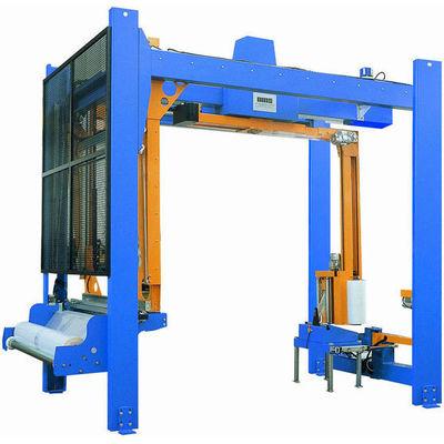 Упаковочное оборудование для паллет как способ защитить от внешних воздействий сыпучие строительные материалы