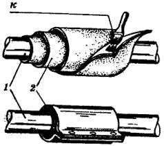 локальный ремонт труб фото