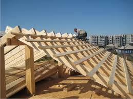 строительство крыши фото